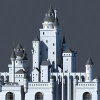 fantasy castle model