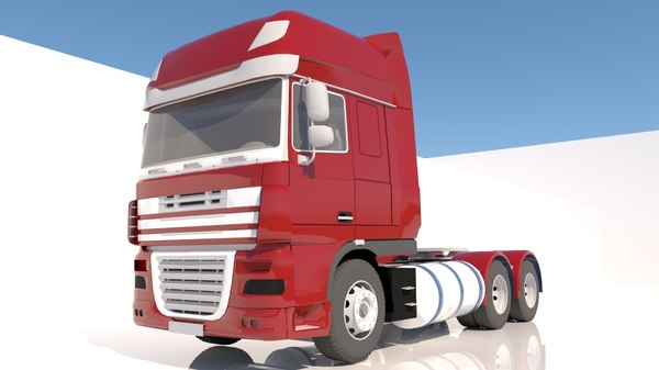 transportation vehicle truck model