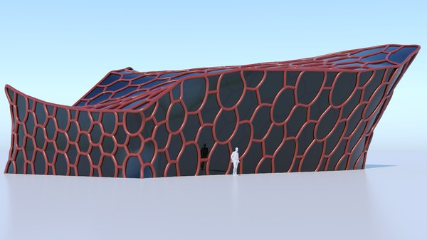 3D small future building