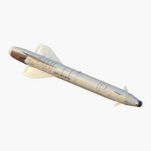 kh-25l guided missile 3D model