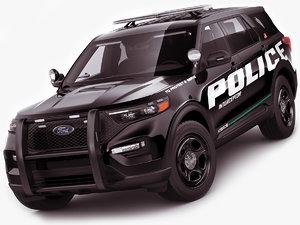 explorer police interceptor model