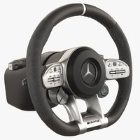 Steering Wheel Mercedes AMG GT 63s