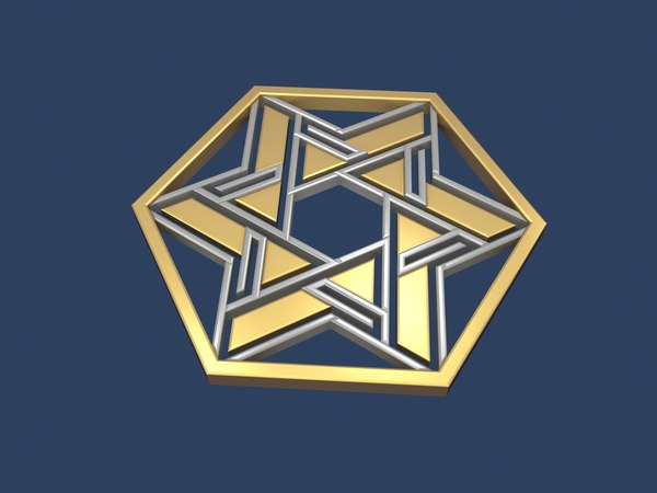 star david hexagon model