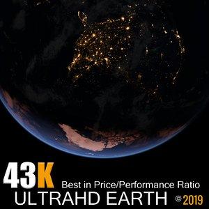 3D model 43k earth