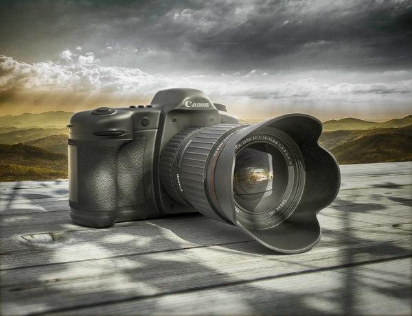 3D canon camera
