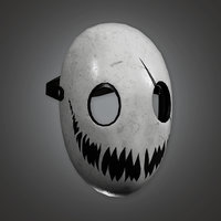 Robbery Mask 2 (BHE) - PBR Game Ready