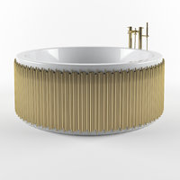 symphony bathtub brabbu 3D model