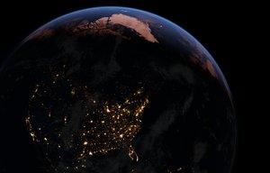 3D model 32k ultrarealistic earth space