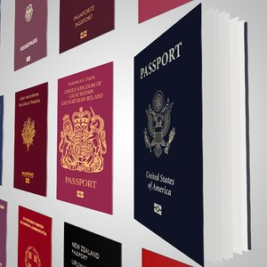 3D 16 passports world