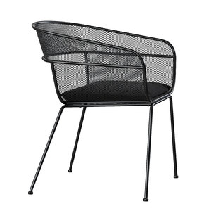 3D scoop outdoor chair