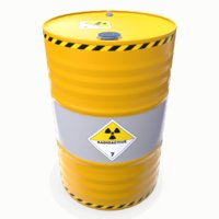 3D radioactive barrel 01