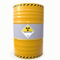 3D radioactive barrel 01