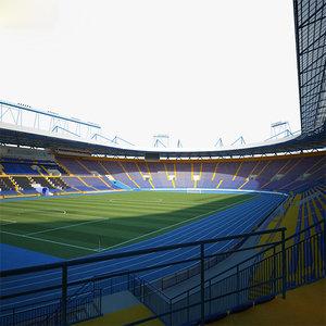 3D model metalist stadium