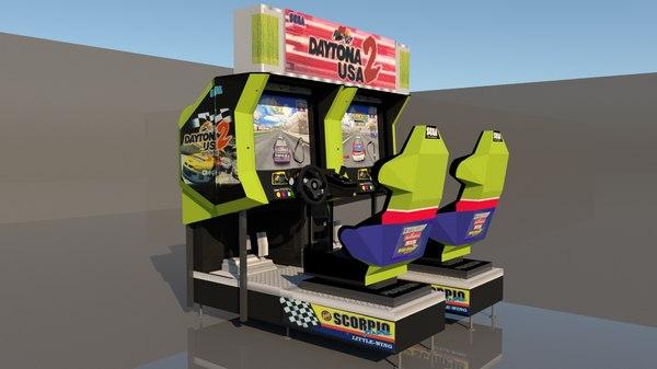 3D arcade model