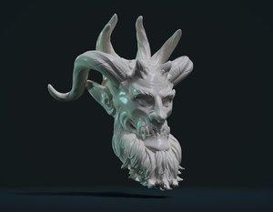 demon head 3D