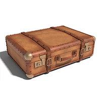 leather suitecase 3D model