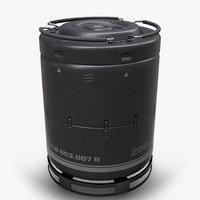 Sci-Fi Barrel PBR