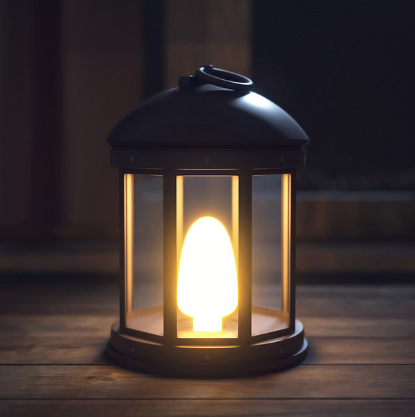 3D lantern lighting