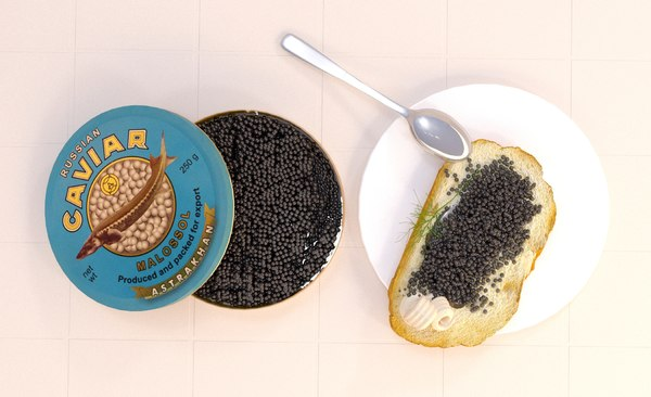 black caviar 3D