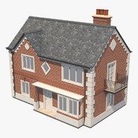 house brick 3D