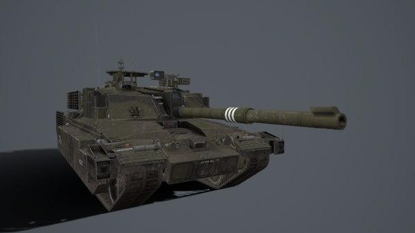 3D challenger 2 model