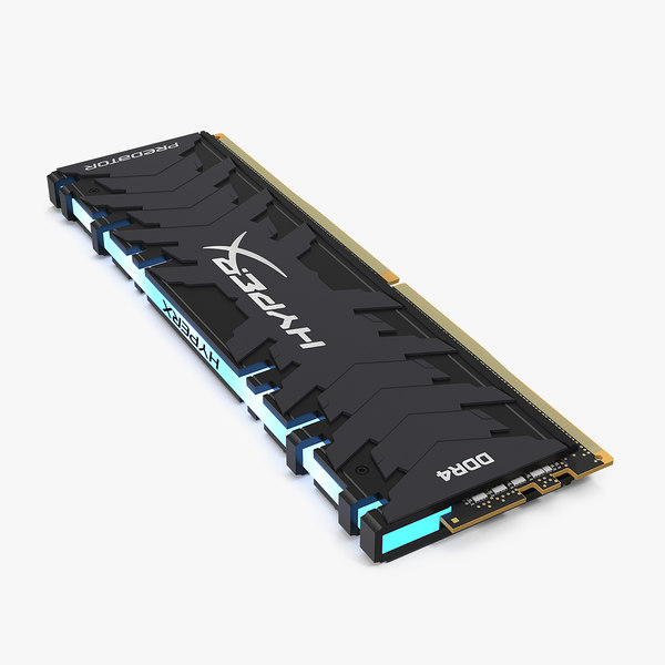 kingston hyperx predator ddr4 3D model
