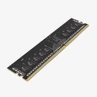 kingston sdram memory module 3D model