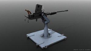3D type gun japanese model