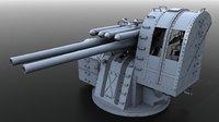 Japanese Type 89 AA naval gun
