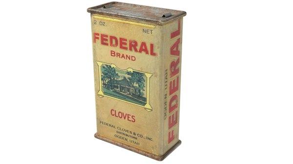 vintage clove 3D
