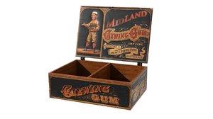 3D vintage wooden gum