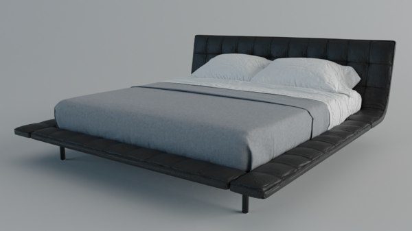 poliform onda bed 3D model