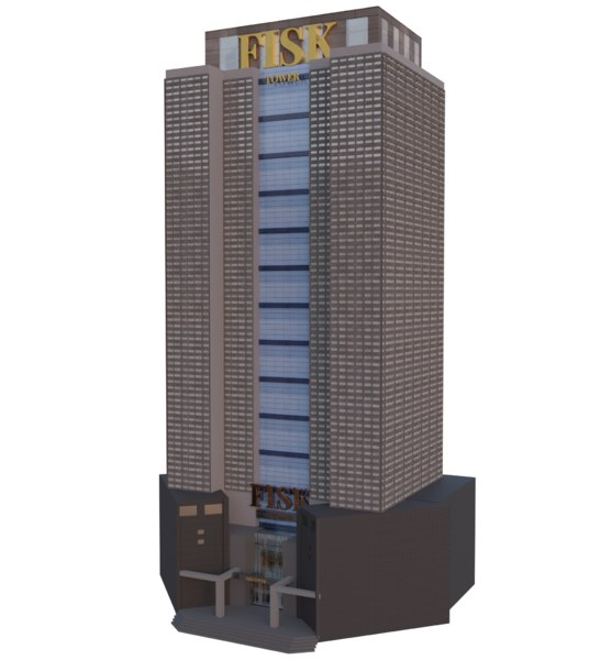 skyscraper building model