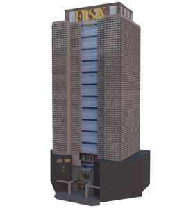skyscraper building model