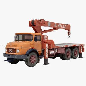 3D crane truck