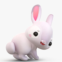 Cartoon Rabbit Bunny 2