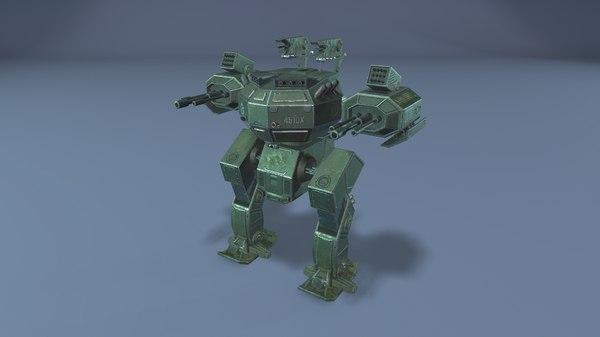 3D robot 4510x model