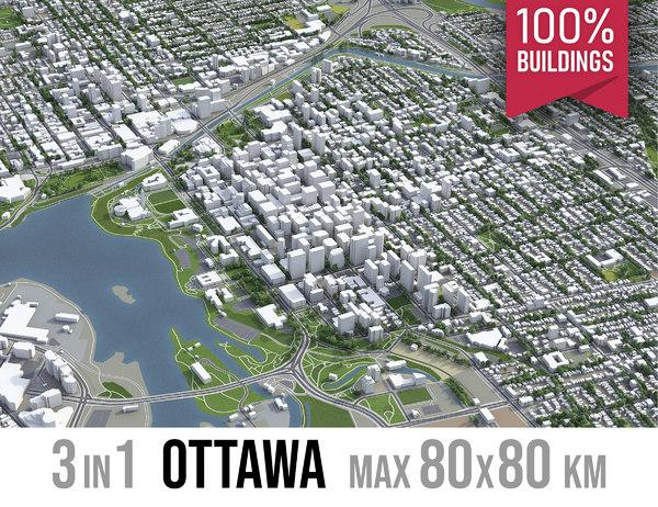 ottawa area urban model