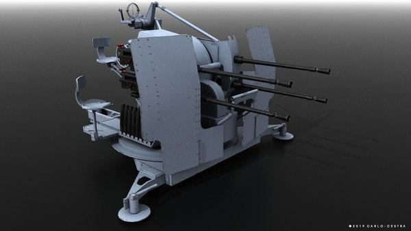 3D flak 38 german