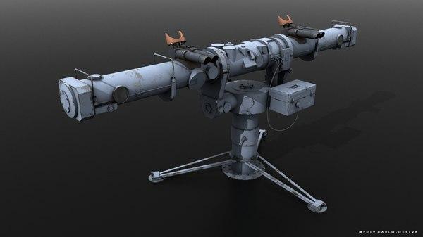 coincidence rangefinder 3D model