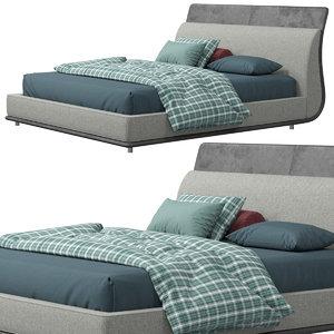 3D twils drop bed model