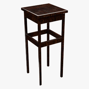 table contains 3D model