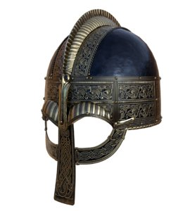 3D model vendel helmet