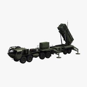 3D model m983 hemtt patriot sam
