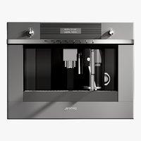 3D model realistic coffee machine linea