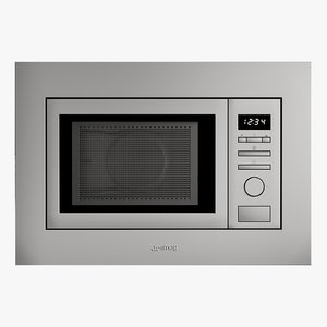 3D realistic microwave universal model