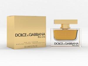 3D dolce gabbana perfume women