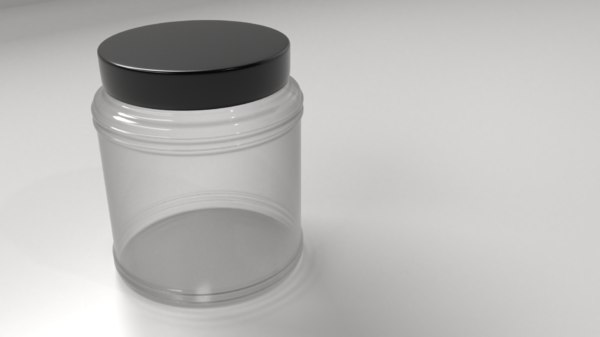 food container 2 3D model
