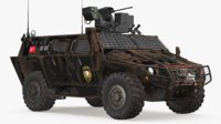 COBRA-2 Tactical Wheeled Armored Vehicle