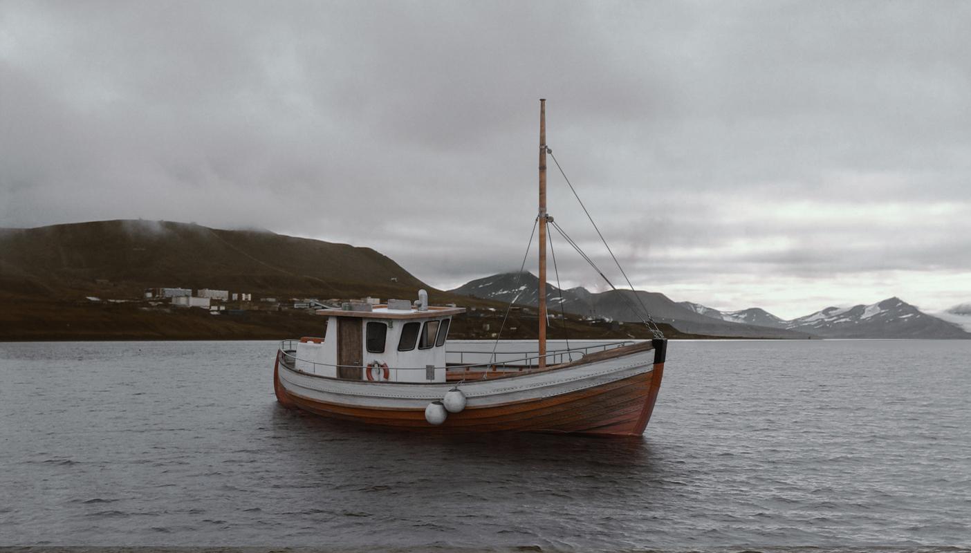 old fishing boat 3D model